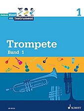 Jedem Kind ein Instrument: Bd.1 Trompete, Schülerheft. Peter Lodenkemper, Sebastian Rakow, - Buch - Peter Lodenkemper, Sebastian Rakow,