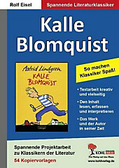 Kalle Blomquist, Literaturprojekt. Rolf Eisel, - Buch - Rolf Eisel,
