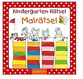 9783845815497 - Kindergarten-Rätsel Malrätsel - Livre