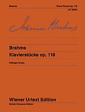 Klavierstücke. Johannes Brahms, - Buch - Johannes Brahms,