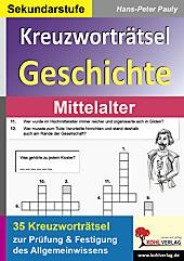 Kreuzworträtsel Geschichte im Mittelalter. Hans-Peter Pauly, - Buch - Hans-Peter Pauly,