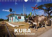 KUBA - Land und Menschen (Wandkalender 2020 DIN A4 quer) - Kalender - Marco Thiel,