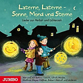 Laterne, Laterne - Sonne, Mond und Sterne, 1 Audio-CD - Hörbuch - Bettina Göschl, Matthias Meyer-Göllner, Ulrich Maske,