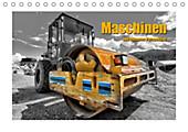 Maschinen aus extremer Perspektive (Tischkalender 2020 DIN A5 quer) - Kalender - Georg Niederkofler,