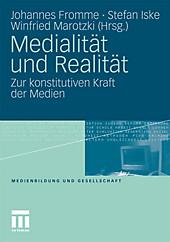 Medialität und Realität.  - Buch