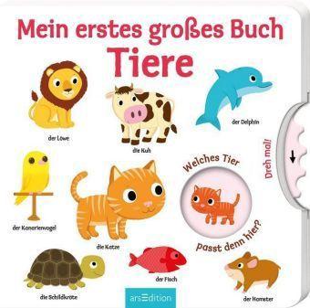 Mein erstes großes Buch - Tiere, m. Drehscheibe