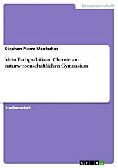 Mein Fachpraktikum Chemie am naturwissenschaftlichen Gymnasium - eBook - Stephan-Pierre Mentsches,