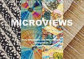 Microviews - Holz, Mineralien und Mikrokristalle (Tischkalender 2017 DIN A5 quer)