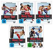 Muay Thai DVD - Die komplette Serie über die Techniken und das Training des Thai-Boxens - DVD, Filme - Christoph Delp,