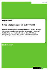Neue Energieträger im Luftverkehr - eBook - Kagan Eksik,
