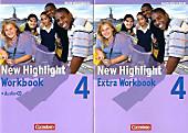 New Highlight, Werkrealschule Baden-Württemberg: Bd.4 8. Schuljahr  (5 Wochenstunden), Workbook m. Audio-CD u. Workbook Extra.  - Buch