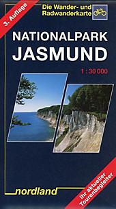 Nordland Karte Nationalpark Jasmund.  - Buch