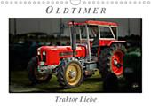 Oldtimer - Traktor LiebeAT-Version (Wandkalender 2021 DIN A4 quer) - Kalender - Peter Roder,