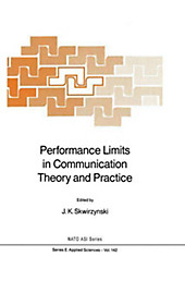 Performance Limits in Communication Theory and Practice.  - Buch