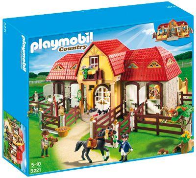 PLAYMOBIL® 5221 Country - Großer Reiterhof mit Paddocks (Jokers)
