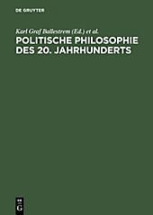 Politische Philosophie des 20. Jahrhunderts - eBook
