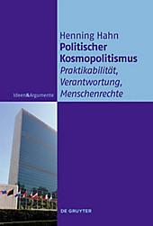 Politischer Kosmopolitismus - eBook - Henning Hahn,
