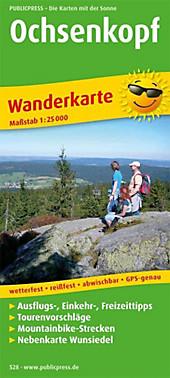 PublicPress Wanderkarte Ochsenkopf