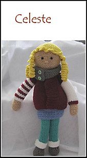 Puppe Celine, Häkelanleitung - eBook - Kerstin Münchehofe,
