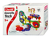 """Bild Quercetti \""""Georello Tech\"""", Zahnradspiel 165 Teile"""