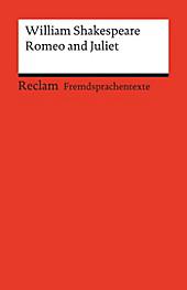 Reclams Rote Reihe - Fremdsprachentexte: Romeo and Juliet - eBook - William Shakespeare,
