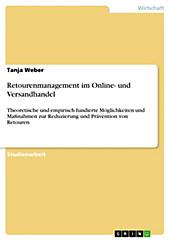 Retourenmanagement im Online- und Versandhandel - eBook - Tanja Weber,