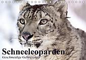 Schneeleoparden. Geschmeidige Gebirgsjäger (Tischkalender 2020 DIN A5 quer) - Kalender - Elisabeth Stanzer,