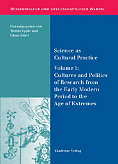 Science as Cultural Practice.  - Buch