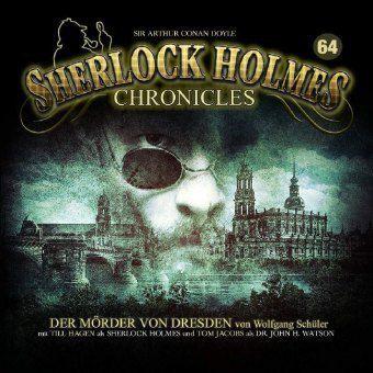 Sherlock Holmes Chronicles - Der Mörder von Dresden, 2 Audio-CD - Belletristik
