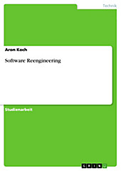Software Reengineering - eBook - Aron Koch,