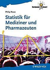 Statistik für Mediziner und Pharmazeuten - eBook - Philip Rowe,