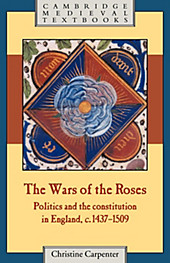 The Wars of the Roses. Christine Carpenter, - Buch - Christine Carpenter,