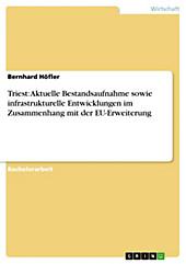 Triest: Aktuelle Bestandsaufnahme sowie infrastrukturelle Entwicklungen im Zusammenhang mit der EU-Erweiterung - eBook - Bernhard Höfler,