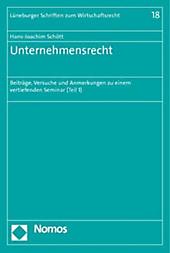 Unternehmensrecht. Hans-Joachim Schött, - Buch - Hans-Joachim Schött,