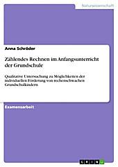 Zählendes Rechnen im Anfangsunterricht der Grundschule - eBook - Anna Schröder,