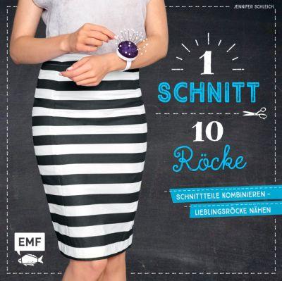 1 Schnitt, 10 Röcke, Jennifer Schleich