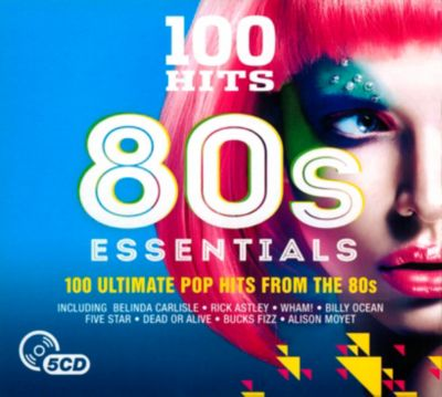 100 Hits-80'S Essentials, 5 CDs, Diverse Interpreten