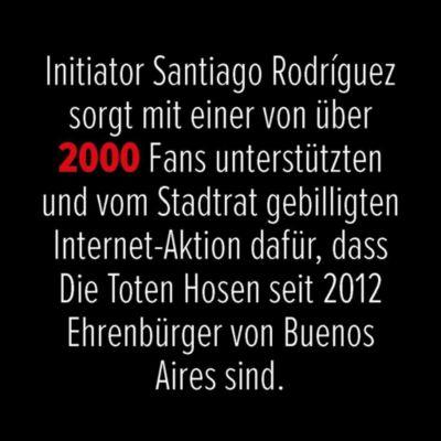 100 x - Die Toten Hosen in Zahlen, Peter Woeckel