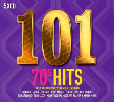 101 70s, 5 CDs