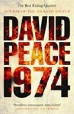 1974, English edition, David Peace
