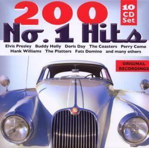200 No. 1 Hits, 10 CDs, Diverse Interpreten