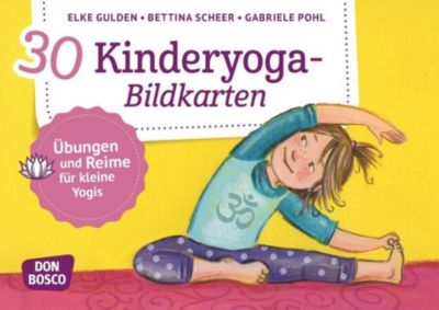 30 Kinderyoga-Bildkarten, Elke Gulden, Gabriele Pohl, Bettina Scheer