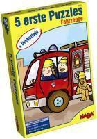 5 Erste Puzzles, Fahrzeuge mit Dreheffekt (Kinderpuzzle)