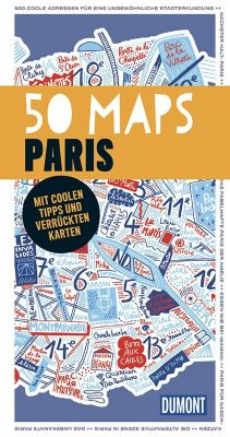 50 Maps Paris, Gaspard Walter