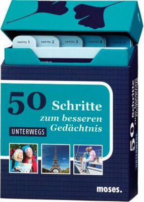 50 Schritte zum besseren Gedächtnis, Übungskarten: Unterwegs, Nicola Berger