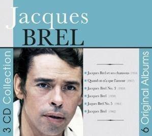 6 Original Albums, Jacques Brel