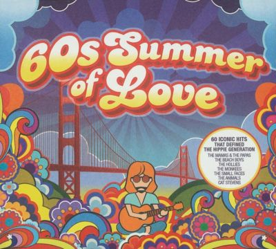 60s Summer of Love, 3 CDs, The Mamas & The  Papas, The Beach Boys, The Hollies, The Monkees, The Small Faces, The Animals, Cat Stevens