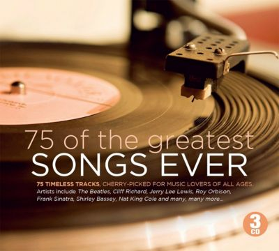 75 Of The Greatest Songs ever, 3 CDs, Diverse Interpreten