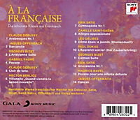 A La Francaise-Die Schönste Klassik Aus Frankreich - Produktdetailbild 1