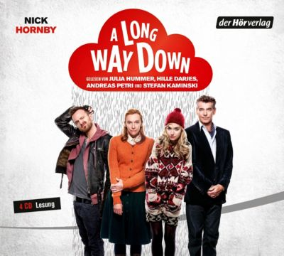 A Long Way Down, 4 Audio-CDs, Nick Hornby